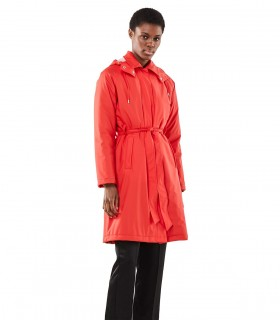 RAINS WTrenchcoat red vrouwelijk model