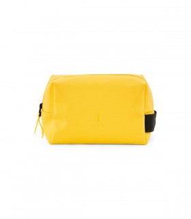 Waterdichte tas RAINS Wash Bag Small yellow voorkant