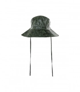 RAINS Boonie Hat oil camo voorkant