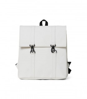 RAINS MSN Bag Mini / Rugtas Off White voorkant