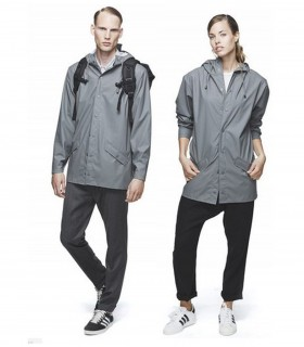 RAINS - Jacket grijs - kort model