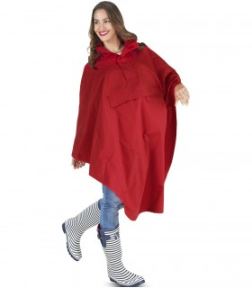 Happy Rainy Days regencape rood