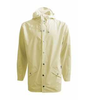 RAINS - Jacket Wax Yellow - kort model
