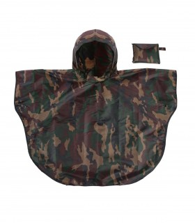 Love for Rain kids regenponcho - Army Camouflage