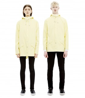 RAINS - Jacket wax yellow