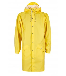 RAINS - Long jacket geel