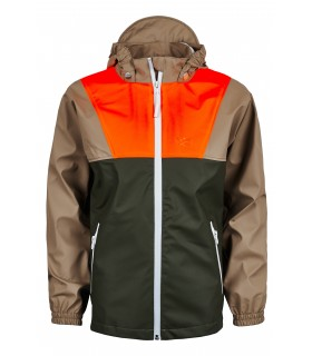 Sways - Ahoy Jacket - Groen/Soil/Oranje