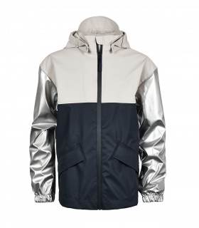 Sways - Dock jacket - Blauw/Zilver/Moon