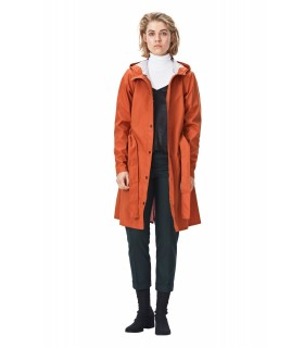 RAINS Curve jacket rust