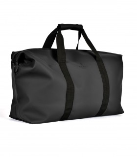 RAINS Tas weekend bag Zwart