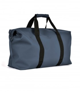 RAINS Tas weekend bag Blauw
