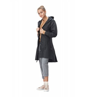 RAINS Firn Jacket Zwart