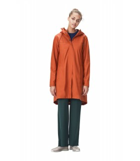 RAINS Firn Jacket Rust