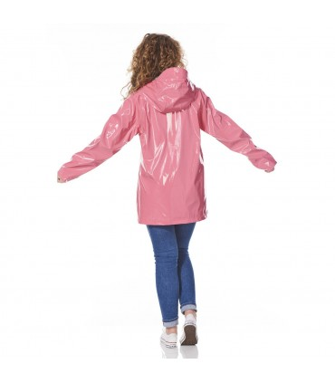 Happy Rainy Days lakjas regenjas dames Pink + gratis techwash