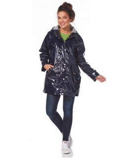 Happy Rainy Days lakjas regenjas dames Blauw+ gratis techwash