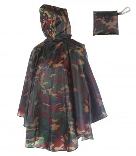 Love for Rain Regenponcho - Army camouflage