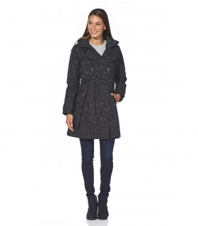 Happy Rainy Days trenchcoat Bonita zwarte dames regenjas