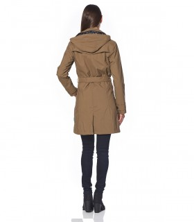 Dames Regenjas Happy Rainy Days trenchcoat Trenchcoat Sheila safari