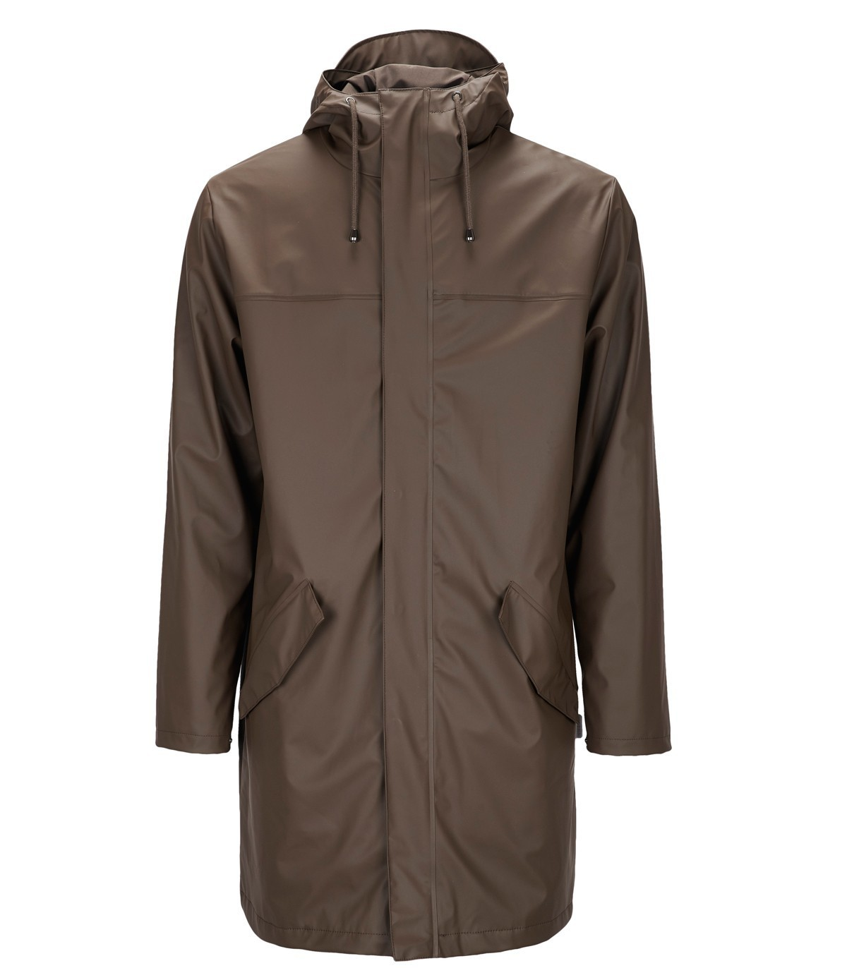 RAINS Themal collectie Alpine Jacket Brown @ LOVE FOR RAIN.NL