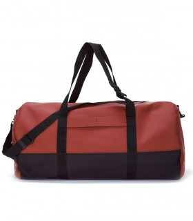 Waterdichte tas Rains travel duffel scarlet