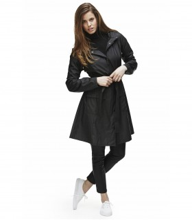 RAINS Curve jacket zwart