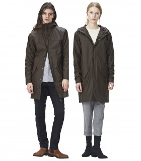 RAINS Alpine Jacket Brown