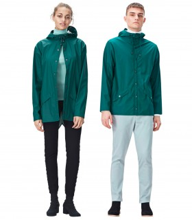 RAINS Jacket Dark Teal