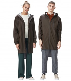 RAINS Parka coat Brown