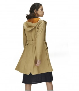 RAINS Curve jacket Desert