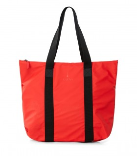 Waterdichte tas Rains tote bag rush red voorkant