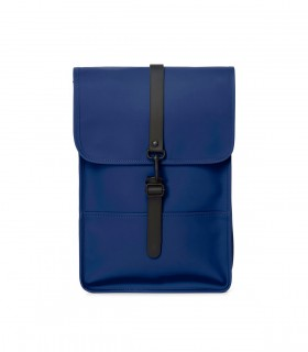 Rains backpack mini klein blue voorkant