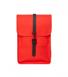 Rains backpack mini red voorkant