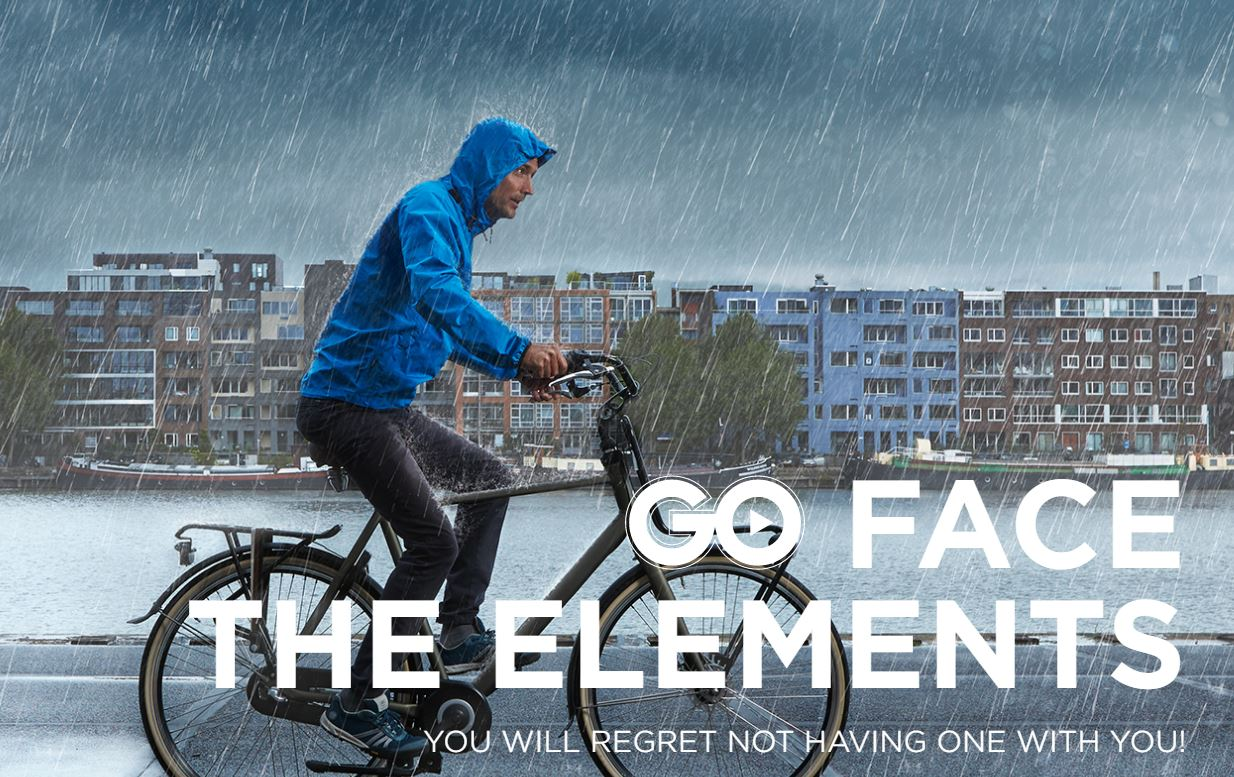 Go face the elements